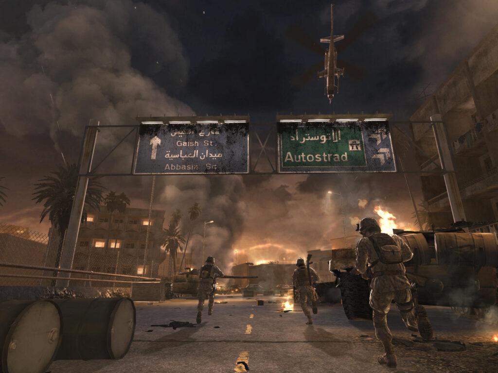 Spelets kampanj låter oss följa ett mörkt krig i olika delar av världen.