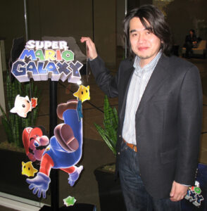 En stolt Yoshiaki Koizumi.