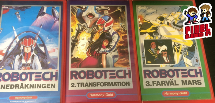 Pixelklubben 64 #105 – Minns du första gången?: Den om Robotech och Macross