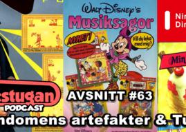 Gillestugan Podcast #63 – Barndomens artefakter & Tuggs